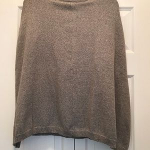 Chico's Gray:Silver mock sweater